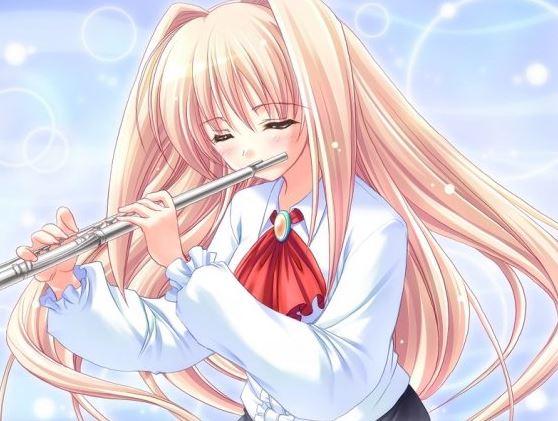 Flute fille