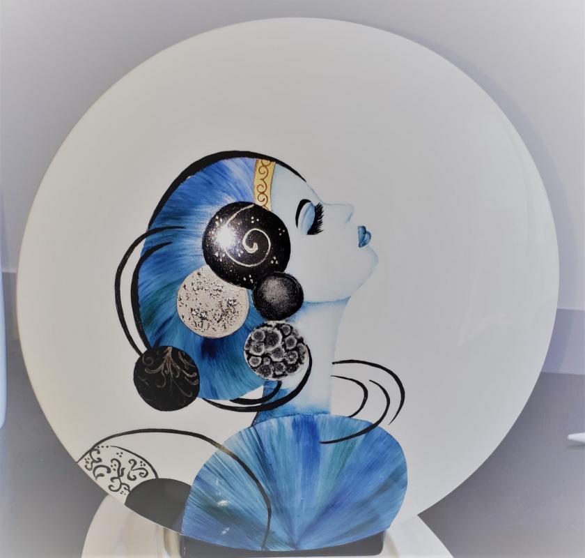 Peinture sur porcelaine 3